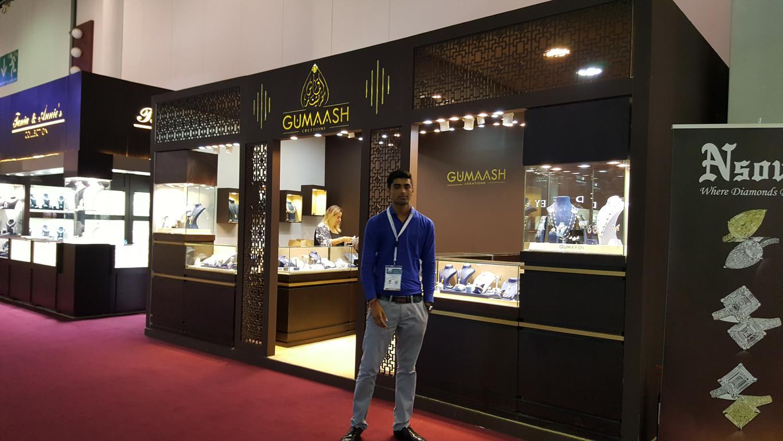 Gumaash@ Sharjah Jewellery Show