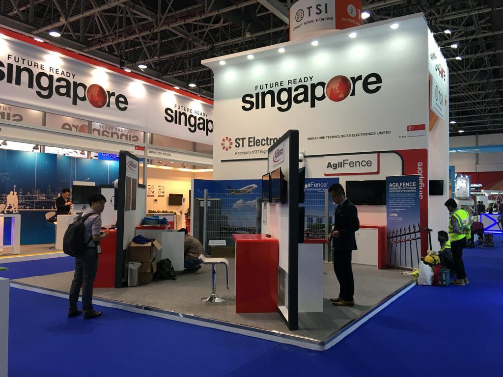 Singapore Pavilion @ Intersec Show